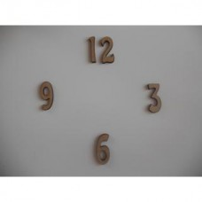 Clock numbers 38mm (3-6-9-12)