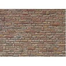 Τοίχος κομμένη πέτρα σε χαρτόνι Faller 170604