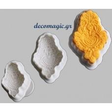 Εργαλεία ζαχαροπλαστικής - 3 τεμάχια