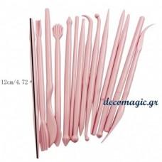 Εργαλεία ζαχαροπλαστικής - σετ 14 τεμάχια
