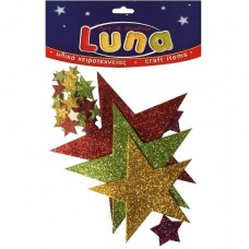 Αστέρια αυτοκόλλητα Luna 601364