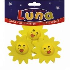 Ήλιοι ξύλινοι Luna 601375