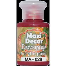 Ακρυλικό χρώμα 130 ml Maxi Decor