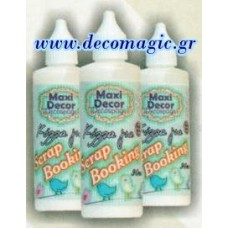 Κόλλα scrapbooking 90 ml MAXI DECOR