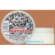 Βάση μαρμορίνο 100 ml Maxi Decor
