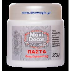 Πάστα διαμόρφωσης 3D MAXI DECOR