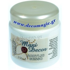 Αστάρι 250ml Maxi Decor (Gesso)
