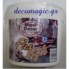 Σκληρυντικό υφάσματος Flex style 750ml Maxi Decor