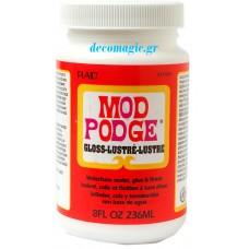 Κόλλα - βερνίκι γυαλιστερή  236ml Mod Podge