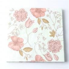 Χαρτοπετσέτα συλλογή λουλουδιών