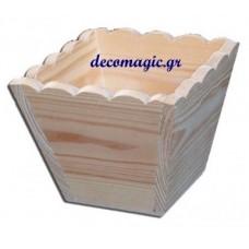 Γλαστράκι- κασπό ξύλινο