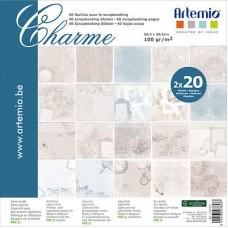 Scrapbooking block Artemio Charme