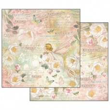Scrapbooking paper double sided Fairy