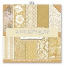 Χαρτί μπλοκ scrapbooking  διπλής όψης Stamperia Wedding