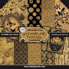 Χαρτί scrapbooking  διπλής όψης Stamperia Steampunk Fantasy