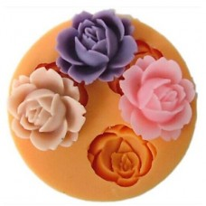 Mold 3d  roses soft silicone
