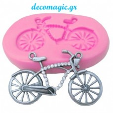 Mold 3d  silicone bicycle