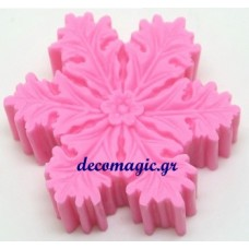 Mold 3d  silicone snow flake