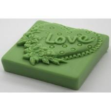 Καλούπι σιλικόνης 3D καρδιά αγάπης