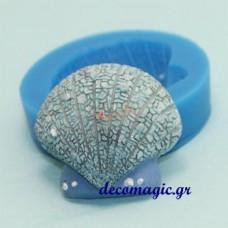 Καλούπι σιλικόνης 3D χτένι κοχύλι
