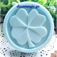 Mold 3d  soft silicone round flower