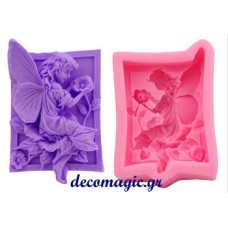 Mold 3d  soft silicone  angel girl