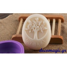 Mold 3d  soft silicone tree