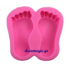Mold 3d  soft silicone toes