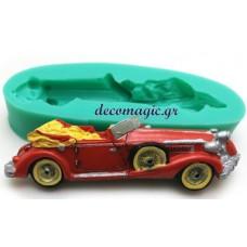 Καλούπι σιλικόνης 3D αυτοκίνητο αντίκα