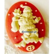 Καλούπι σιλικόνης 3D Άγιος Βασίλης Νο 4 με σάκο